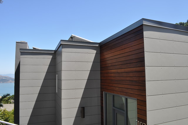 Swisspearl and Ipe Rainscreen siding - Modern - Exterior ... on Siding Modern  id=72713