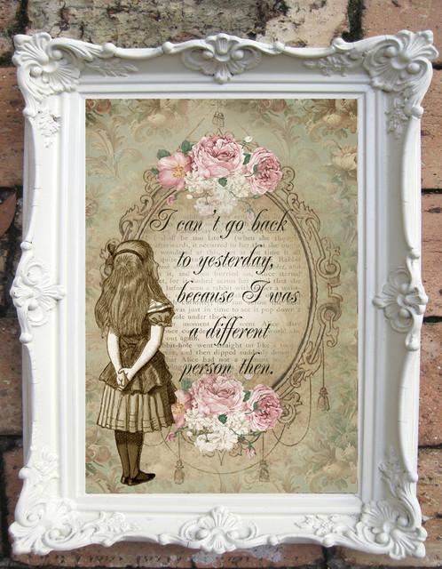 Image result for vintage alice in wonderland quotes