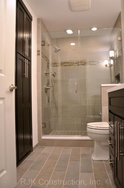 Masculine Bathroom Renovation Contemporary Bathroom