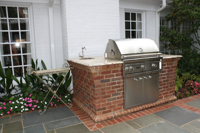 Custom Grilling Station - Traditional - Patio - other ... on Patio Grill Station  id=48251
