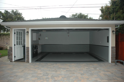 what product was used to paint garage floor? on Garage Color Ideas  id=70125