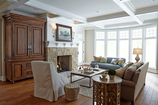 Nantucket Style Living Room