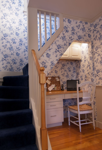 French Country Kitchen Eclectic Staircase Boston
