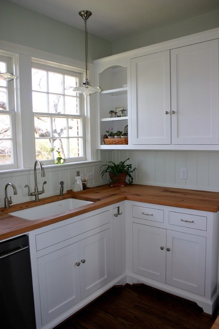 Reclaimed White Oak Wood Tops are Perfect for Historic ... on Farmhouse Countertops  id=43183