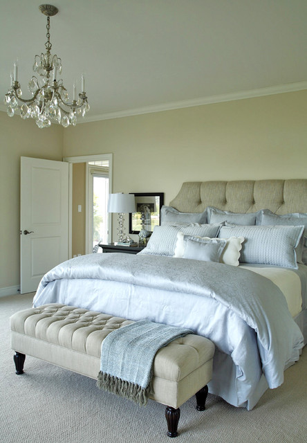 Tranquil Master Bedroom Traditional Bedroom Toronto By Jacqueline Glass And Associates