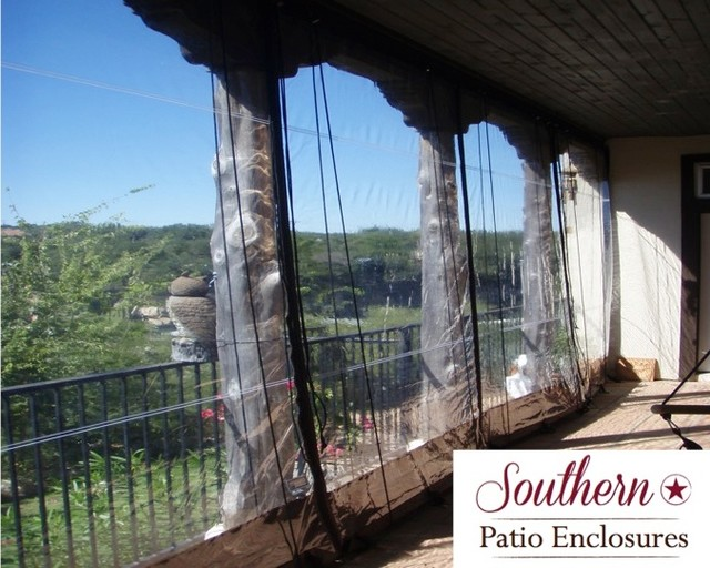 residential Clear Vinyl Patio Enclosure curtains by ... on Outdoor Patio Enclosures  id=55435
