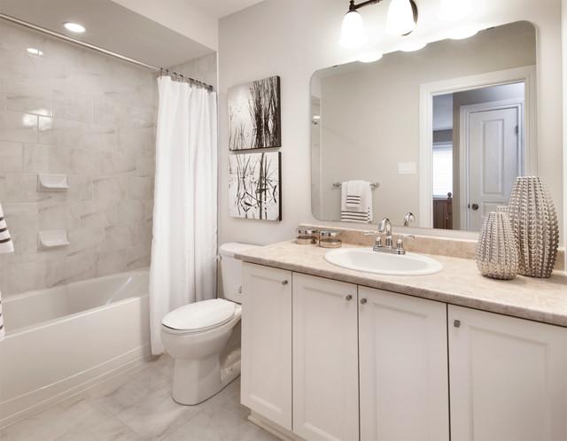 Model Homes - Transitional - Bathroom - ottawa - by Tartan ... on Model Bathroom Ideas  id=95999