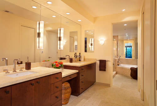 What height do you put vertical mirror sconce? on Height Of Bathroom Sconce Lights id=16047