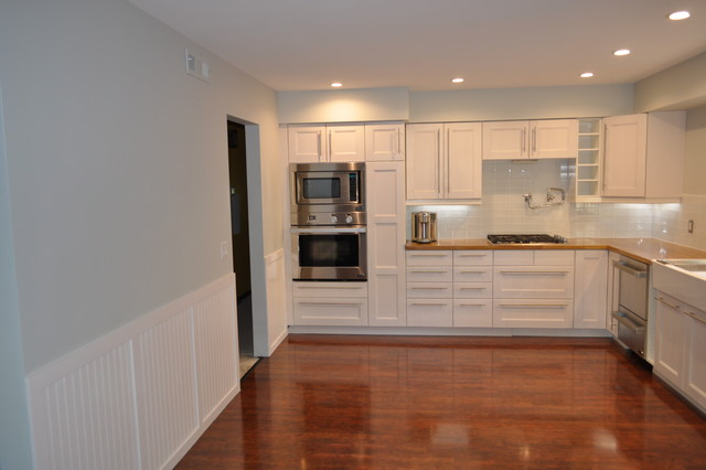 DCS Oven And Microwave Contemporary Kitchen Omaha