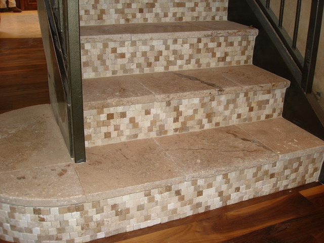 Stair Tile Detail