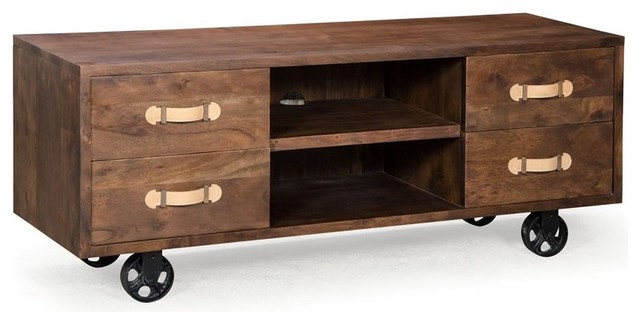 Dutch Low Media Console Dresser
