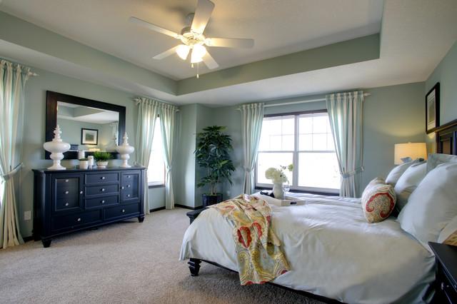 Ashland Model Master Bedroom/Bath - Eclectic - Bedroom ... on Model Bedroom Design  id=55519