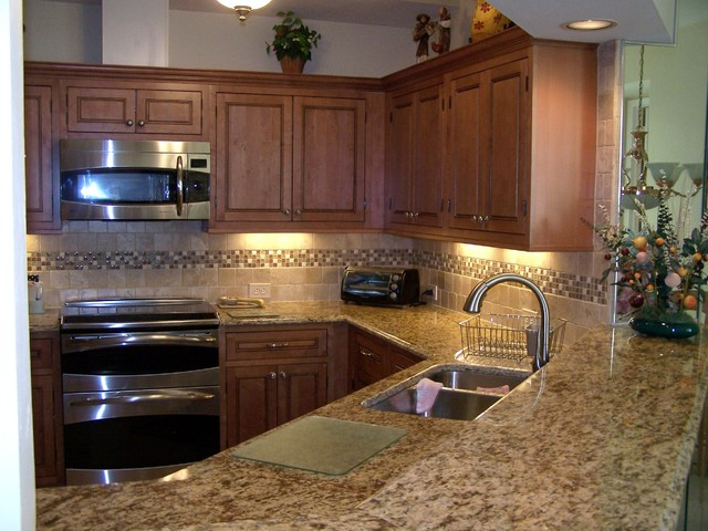 Maple Kitchen Cabinets | Inset Cabinets | CliqStudios ... on Backsplash For Maple Cabinets  id=33952