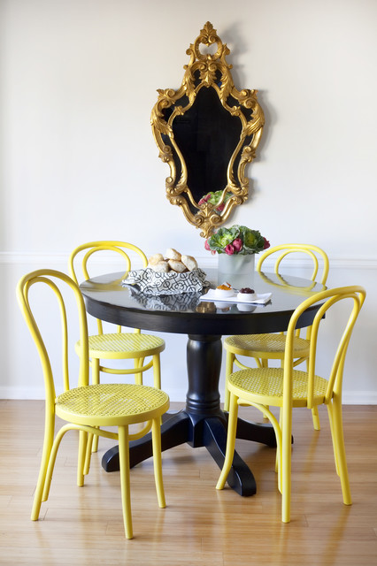 Vintage eclectic dining room