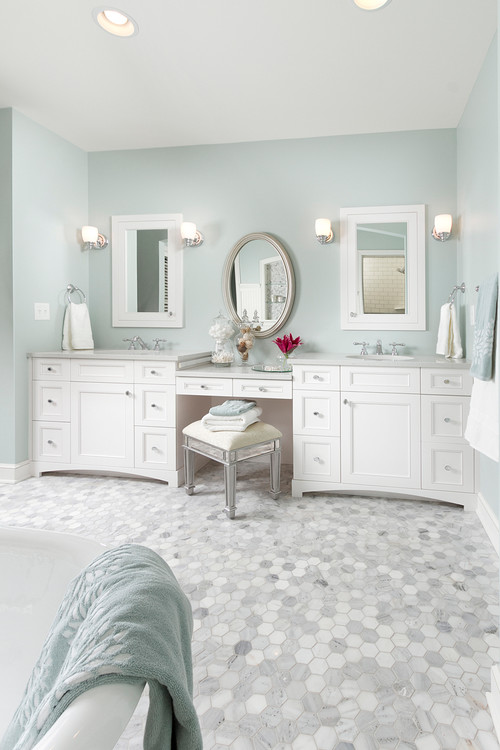 How To Light a Bathroom Mirror With Sconces on Height Of Bathroom Sconce Lights id=42277