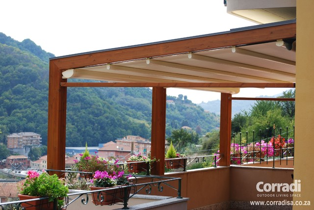 Pergotenda- Patio awnings with retractable roofs by ... on Corradi Outdoor Living id=91307
