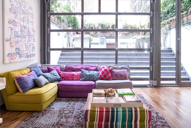 My Houzz: New York City eclectic-living-room