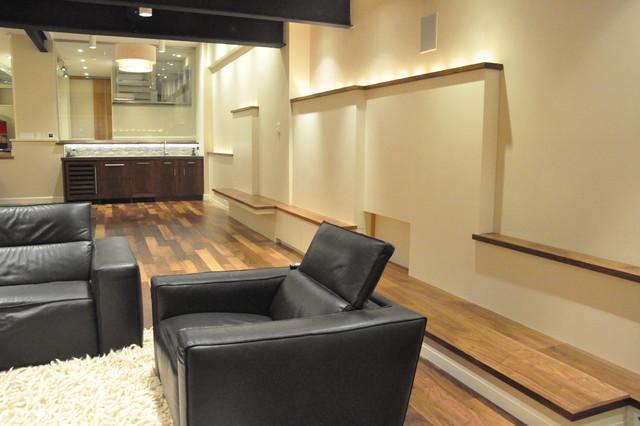 basement den 2 contemporary basement new york by on Basement Den Ideas id=99104