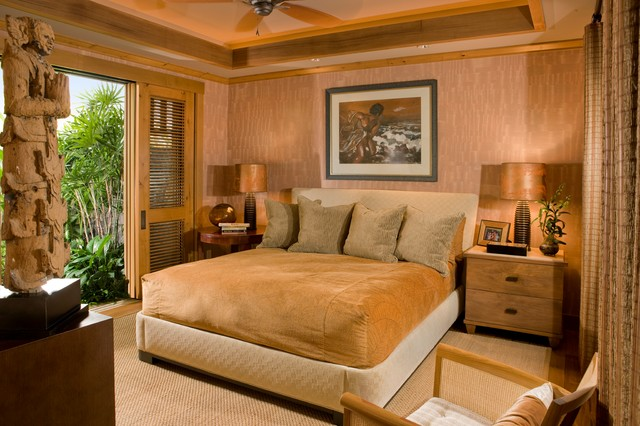 Guest Bedroom Tropical Bedroom Hawaii By Saint