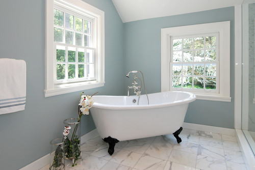 Remodelaholic Tips And Tricks For Choosing Bathroom Paint Colors - Pictures of bathroom paint colors