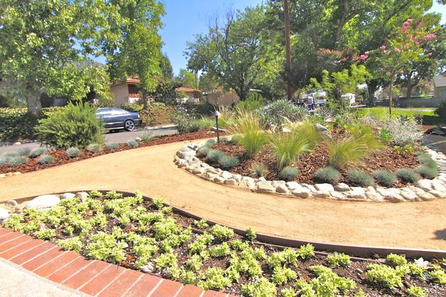Grassless - Modern - Landscape - los angeles - by Dattola ... on Grassless Garden Ideas  id=33512