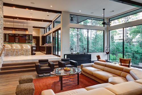 20 Modern Open Living Room Ideas