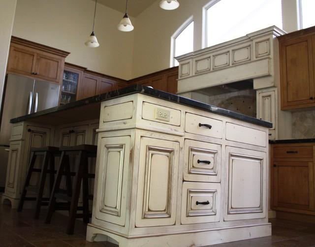 Antique kitchen island