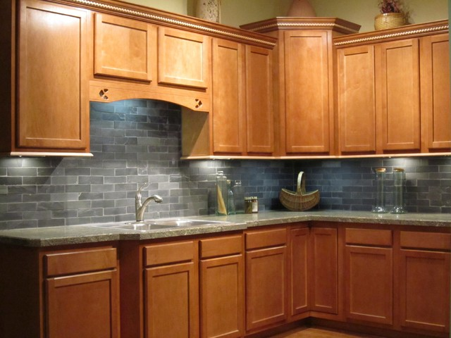 Bretwood Maple - Kitchen Cabinetry - other metro - by ... on Backsplash For Maple Cabinets  id=75916