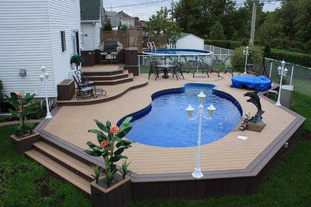 Patio Deck-Art Designs® NEW 2013 contemporary-pool on Pool Deck Patio Ideas id=38917
