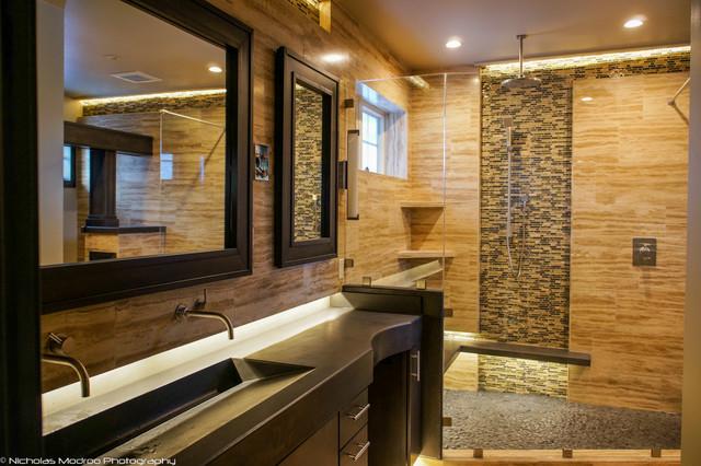 Modern Spa Like Master Bath Makover