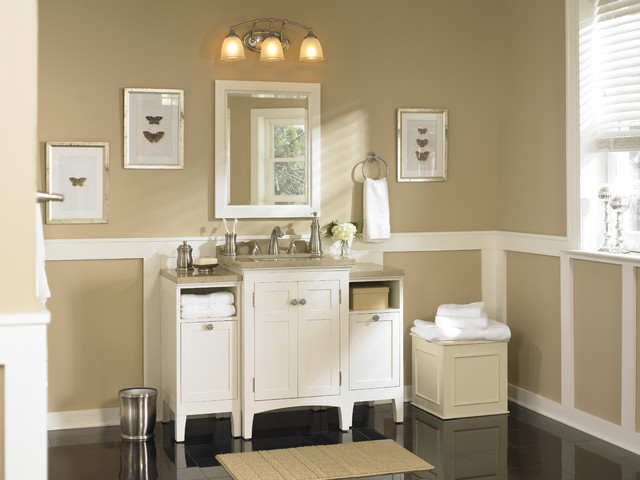 Classic Bath Packed With Storage Solutions