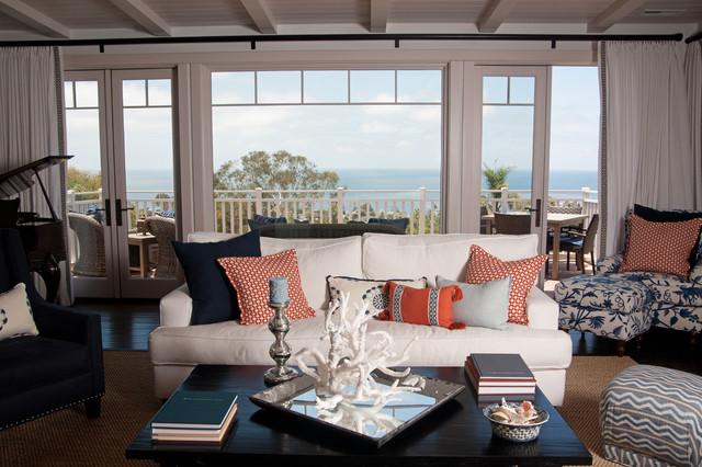 Laguna Cottage traditional living room
