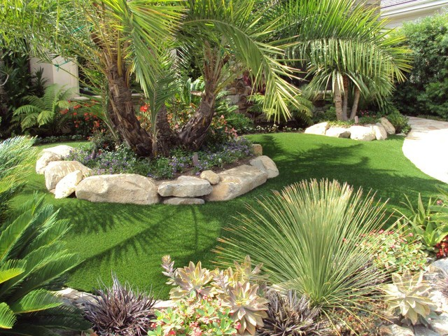 Front Yard Landscaping Tropical Ideas - Home Decorating Ideas on Tropical Landscaping Ideas For Small Yards id=91059