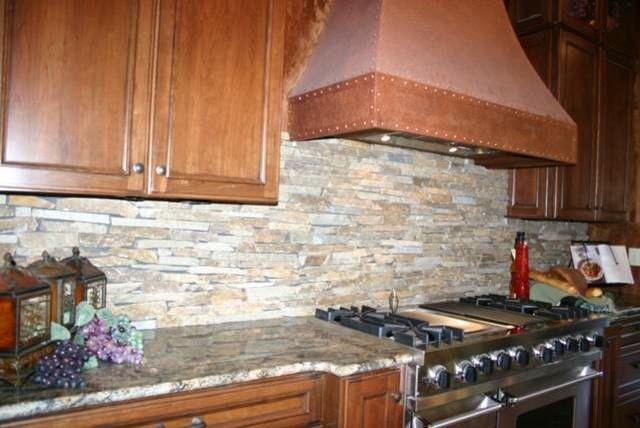 Granite Countertops and Tile Backsplash Ideas - Eclectic ... on Granite Countertops And Backsplash Ideas  id=37616