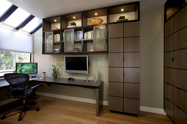 Office contemporary home office