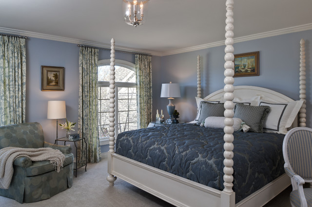 Edward Postiff Interiors traditional bedroom