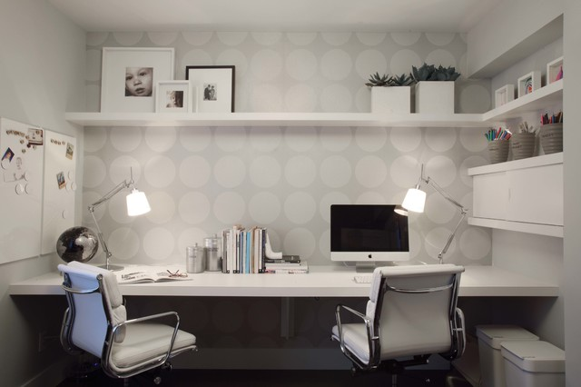 POINT GREY HOME contemporary-home-office
