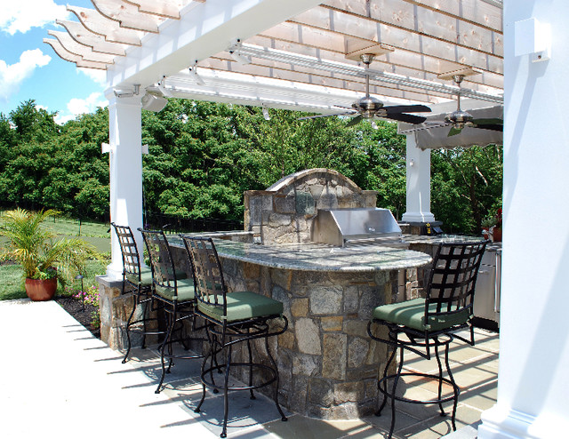 Grilling Stations - Traditional - Patio - dc metro - by ... on Patio Grill Station id=39151