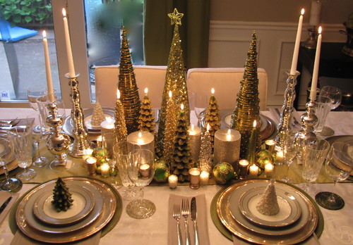 Image result for christmas dining table for 2