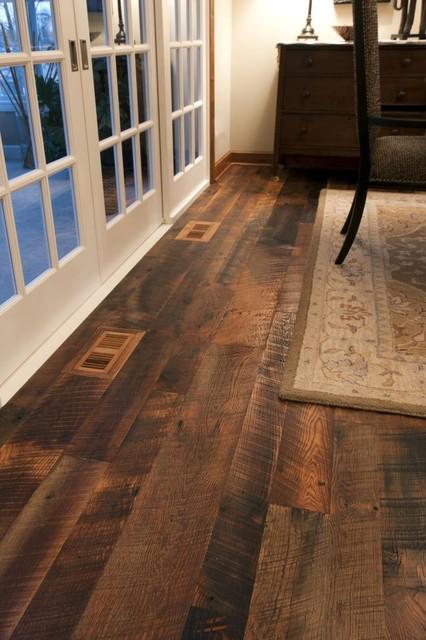 Reclaimed Antique Oak Hit Skip Hardwood Flooring