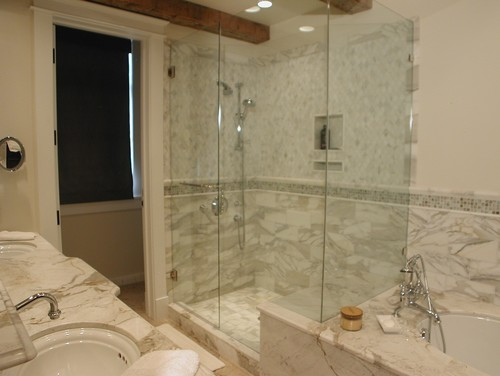 designing around a small bathroom