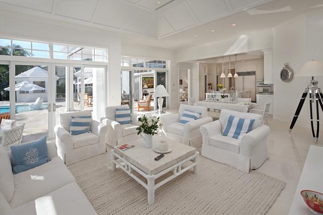 John Mcdonald Co tropical living room