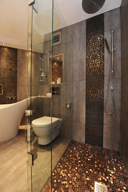 Commercial Endeavours eclectic bathroom