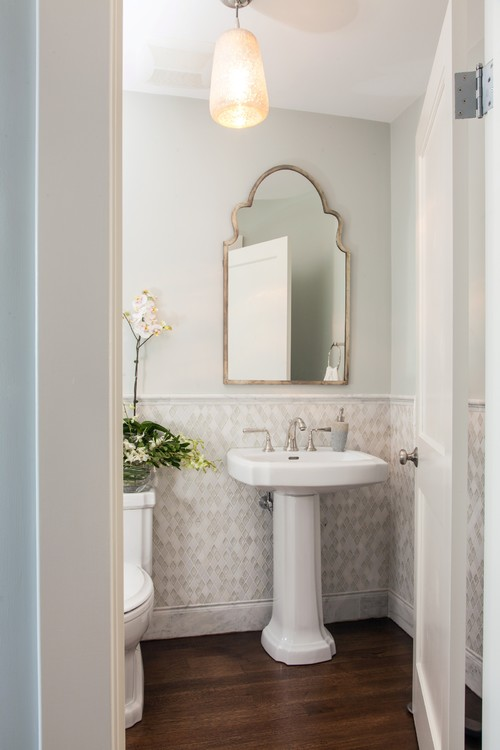 Smallest Powder Room Layout
