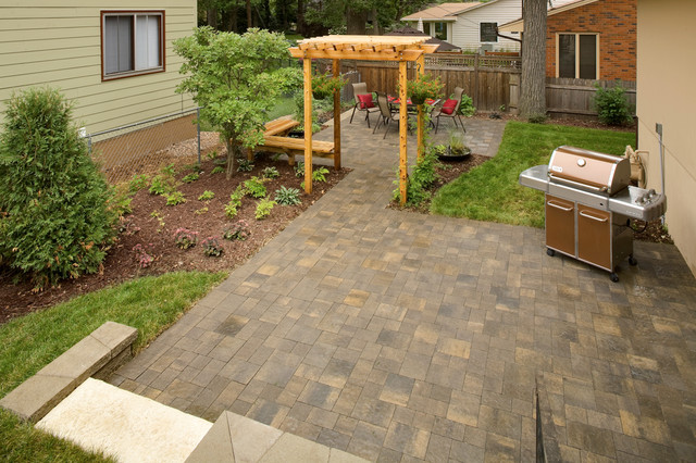 Outdoor Living Spaces in a Small Side Yard - Traditional ... on Houzz Outdoor Living Spaces id=75077