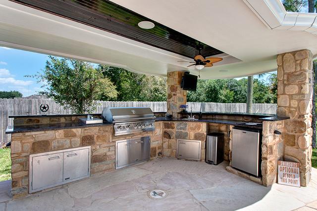 Outdoor Patio Extension-Sugar Land, Texas on Backyard Patio Extension Ideas id=13258