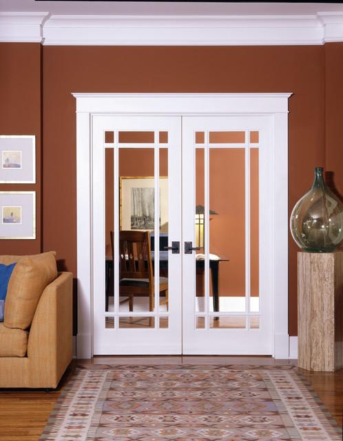9-Lite Decorative Glass Interior Door - Home Office ...