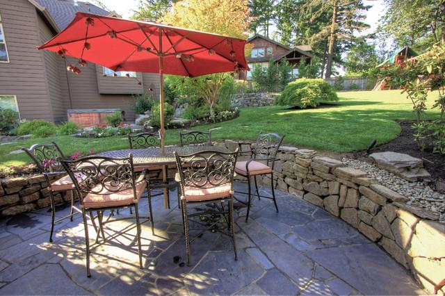 Portland Landscaping Outdoor Living on Houzz Backyard Patios  id=45714
