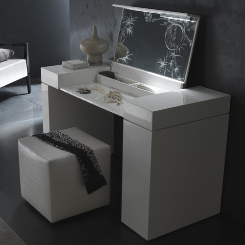 Rossetto | Nightfly Dressing Table modern-bedroom-and ... on Makeup Bedroom  id=34610