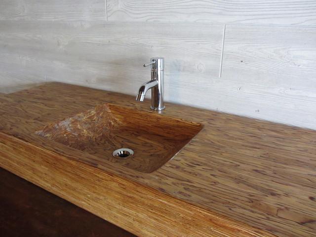 Wood Bathroom Sinks